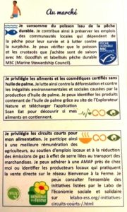 Extrait du guide d'engagement