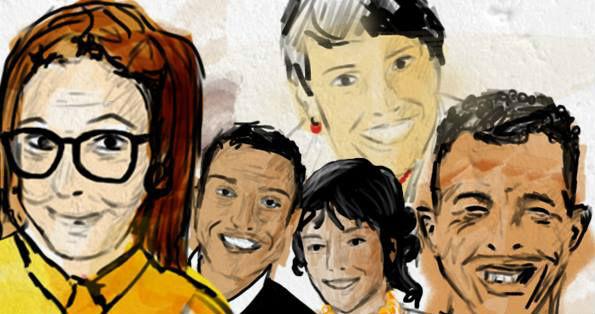 les 4 familles (1)